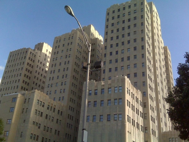 The Beacon condominiums in Jersey City