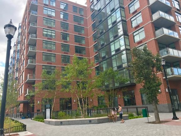 Street View of 1400 Hudson Courtyard in Hoboken