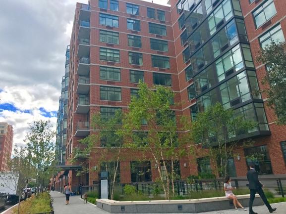 1400 Hudson Has Plenty of Windows for Residents to Enjoy the Hoboken Skyline