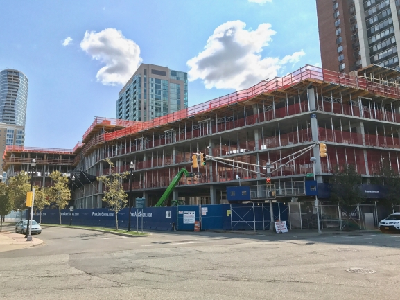 On-Site Parking at Park and Shore Condos in Jersey City, NJ