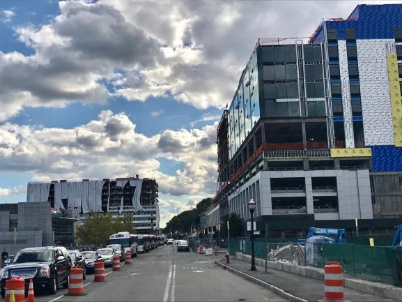 Street View of Avora Condos in Weehawken, NJ