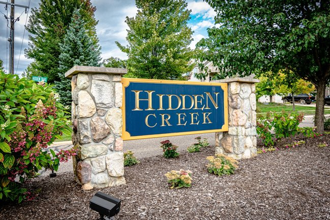 Hidden Creek Neighborhood In Howell Michigan