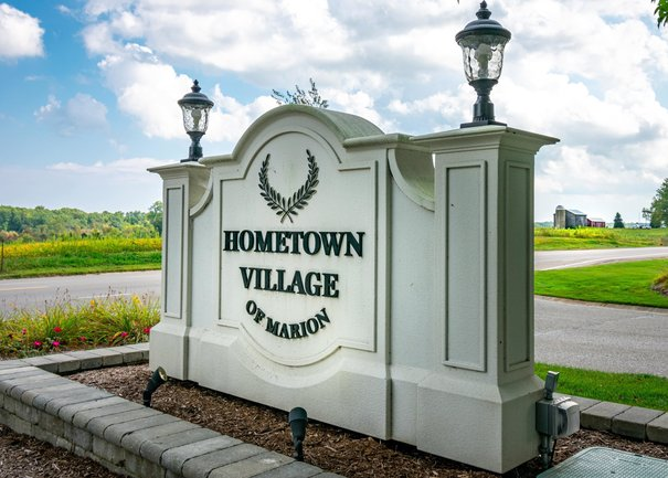 Entrance To Hometown Village