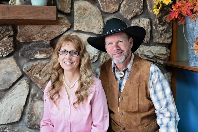 Photo of Rick Buckingham and Cathy Barrera,