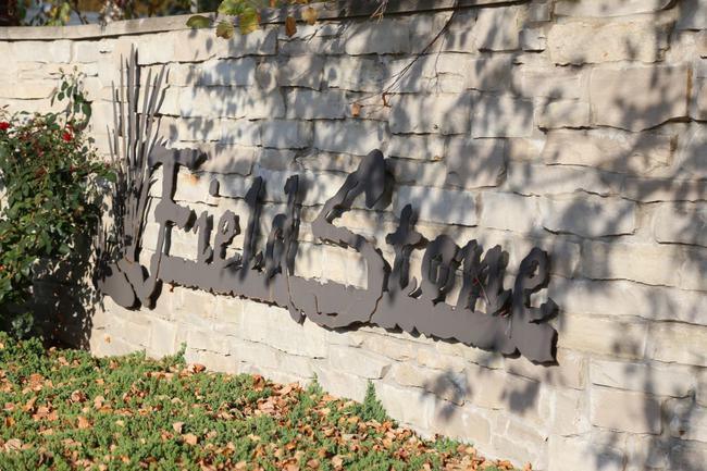 Fieldstone Entry Sign