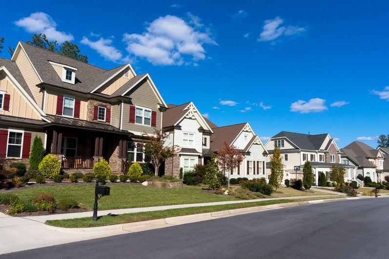 Scenic neighborhoods provide affordable new housing.
