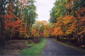 fall colors in cable wi