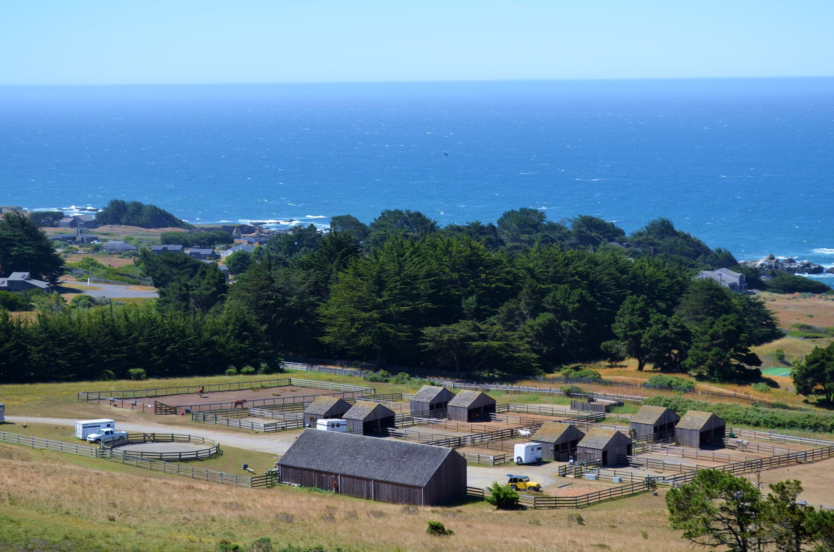 The Sea Ranch equestrian center and stables