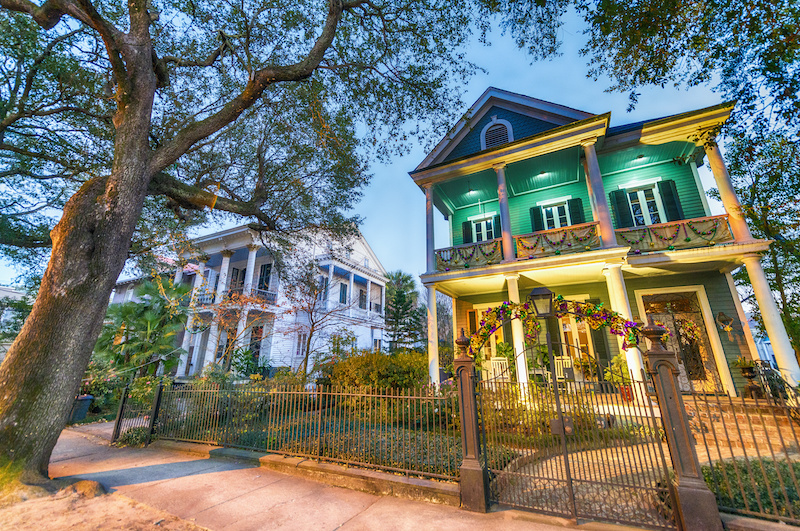 Home in New Orleans