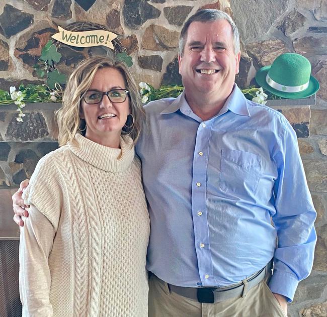 Photo of John Clarke and Stacie Koroly,