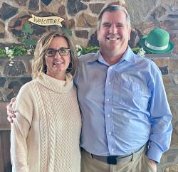 Photo of John Clarke and Stacie Koroly