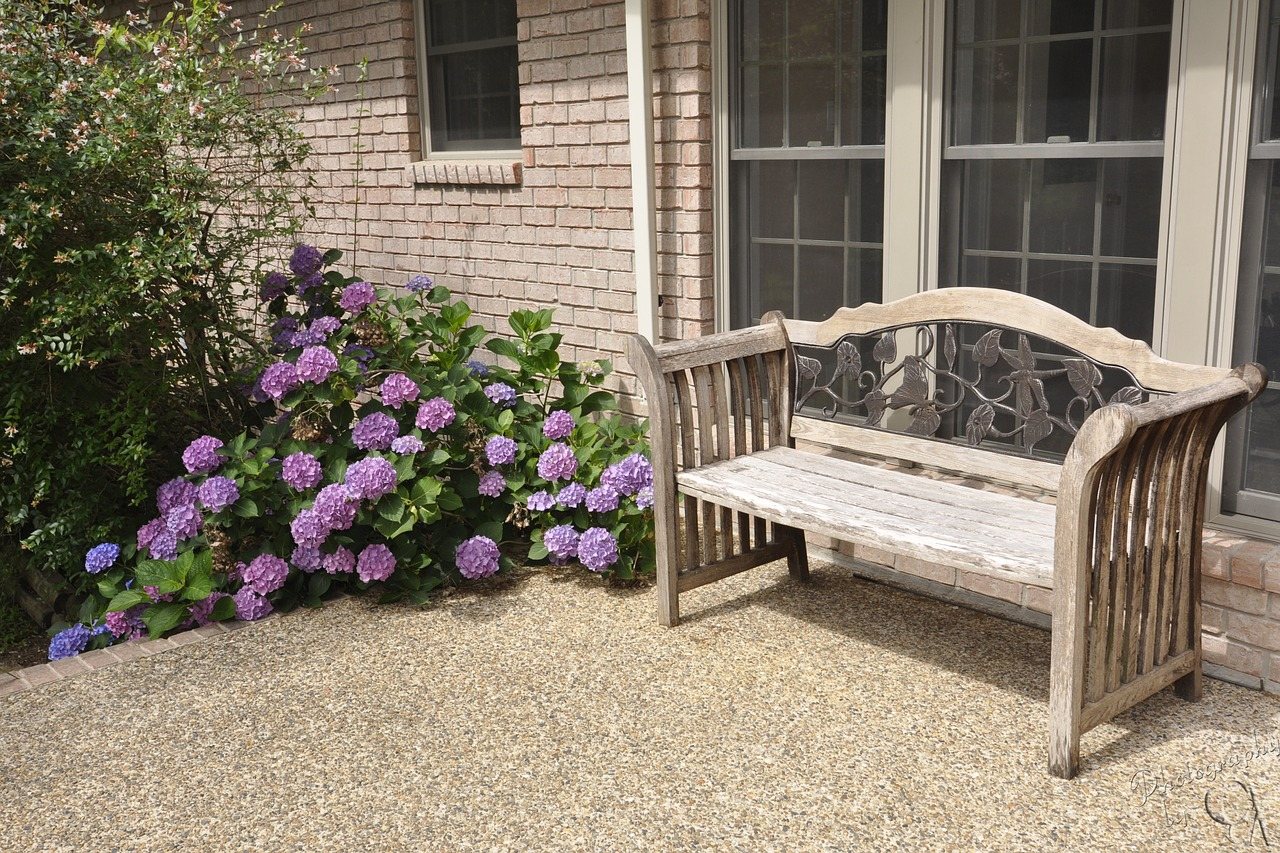 Front porch with two chairs.