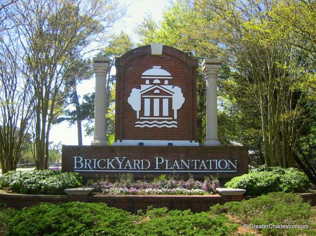 Brickyard Plantation Neighborhood Sign