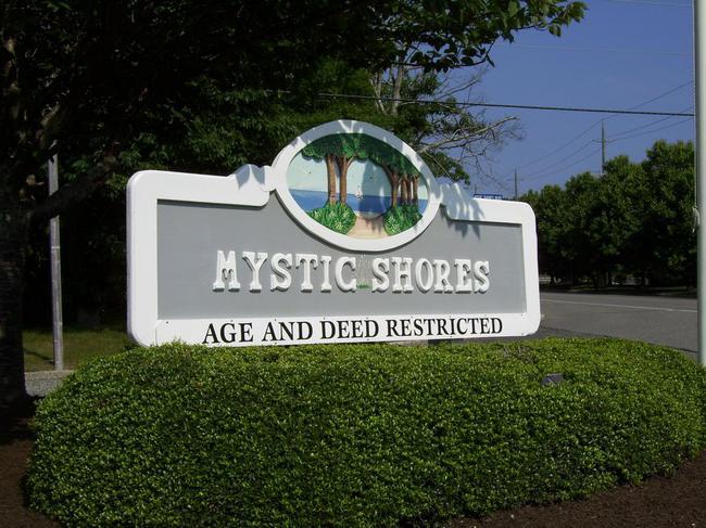 Mystic Shores Entrance