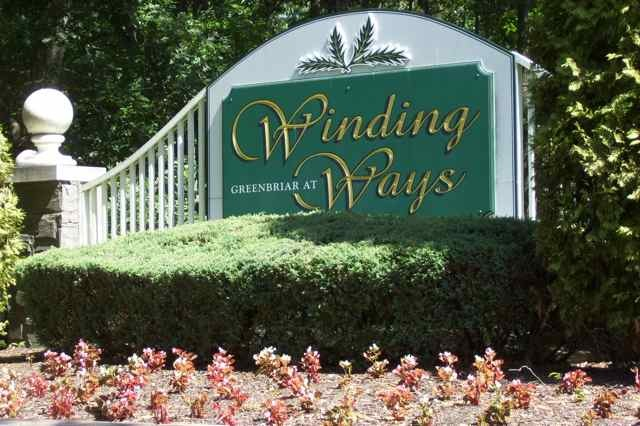 Winding Ways Entrance