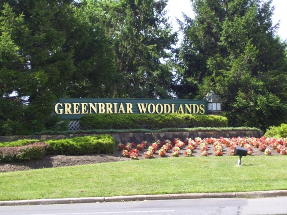 Greenbriar Woodlands Entrance