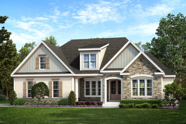 Custom design your beautiful new luxury home in the lovely Freedom Farms of Cleveland.