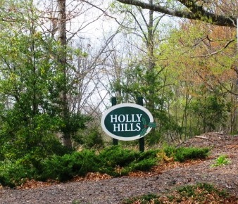 Entrance into Holly Hills Altavista Virginia