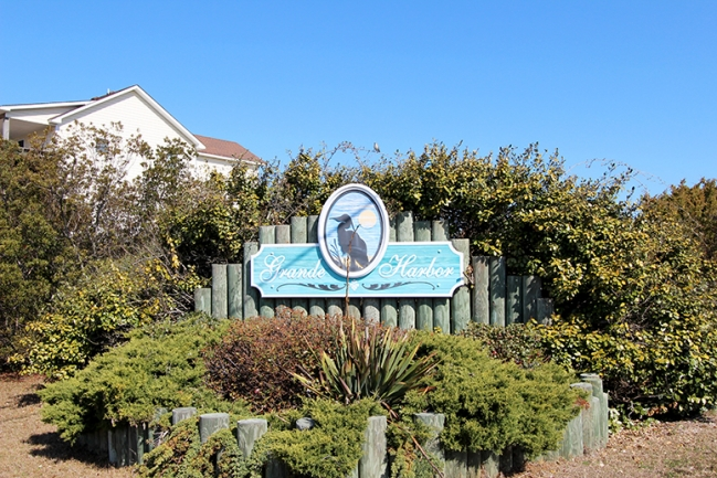 Welcome to Grande Harbor in Salvo, NC!