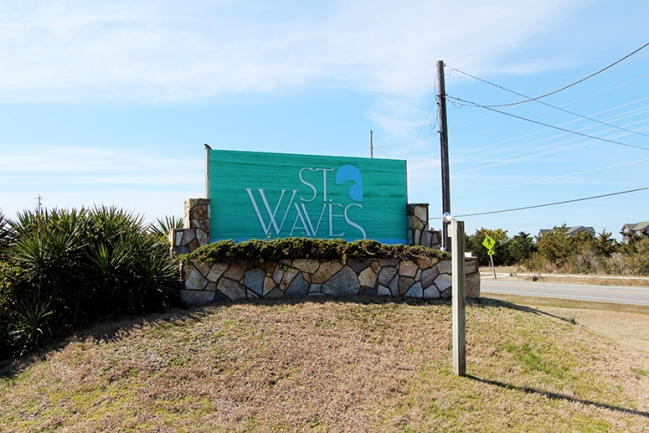 Welcome to St. Waves in Waves, NC!