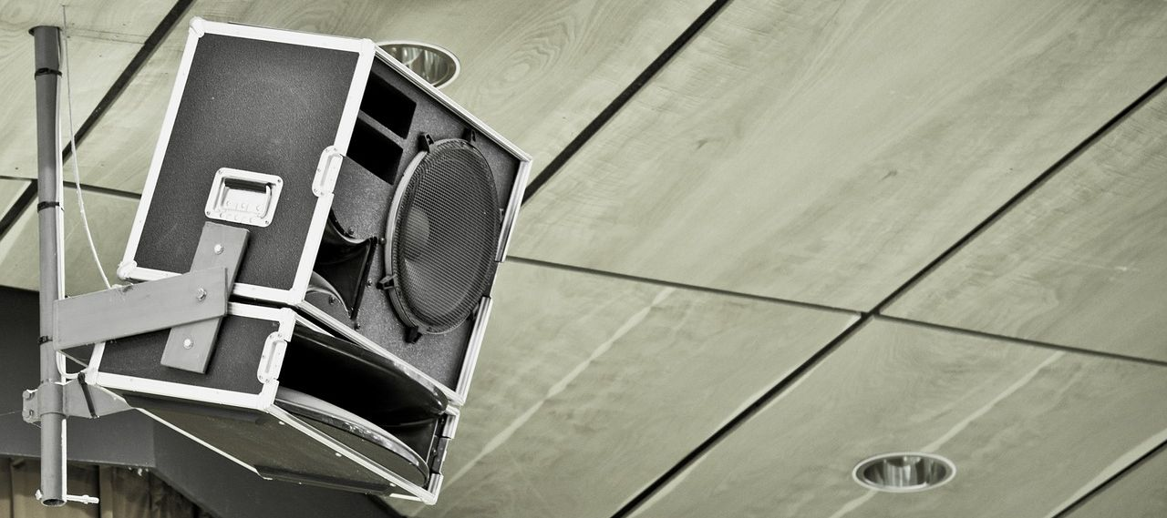 raleigh speaker and audio installation