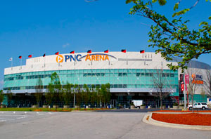 PNC Arena in Raleigh.