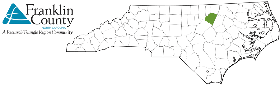 Franklin County NC Map and Logo