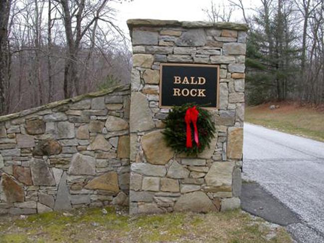 Bald Rock Gated Entr