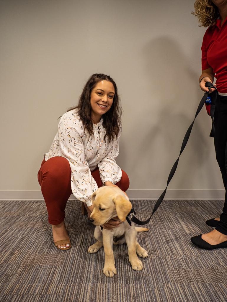 Christina Yansky Puppy