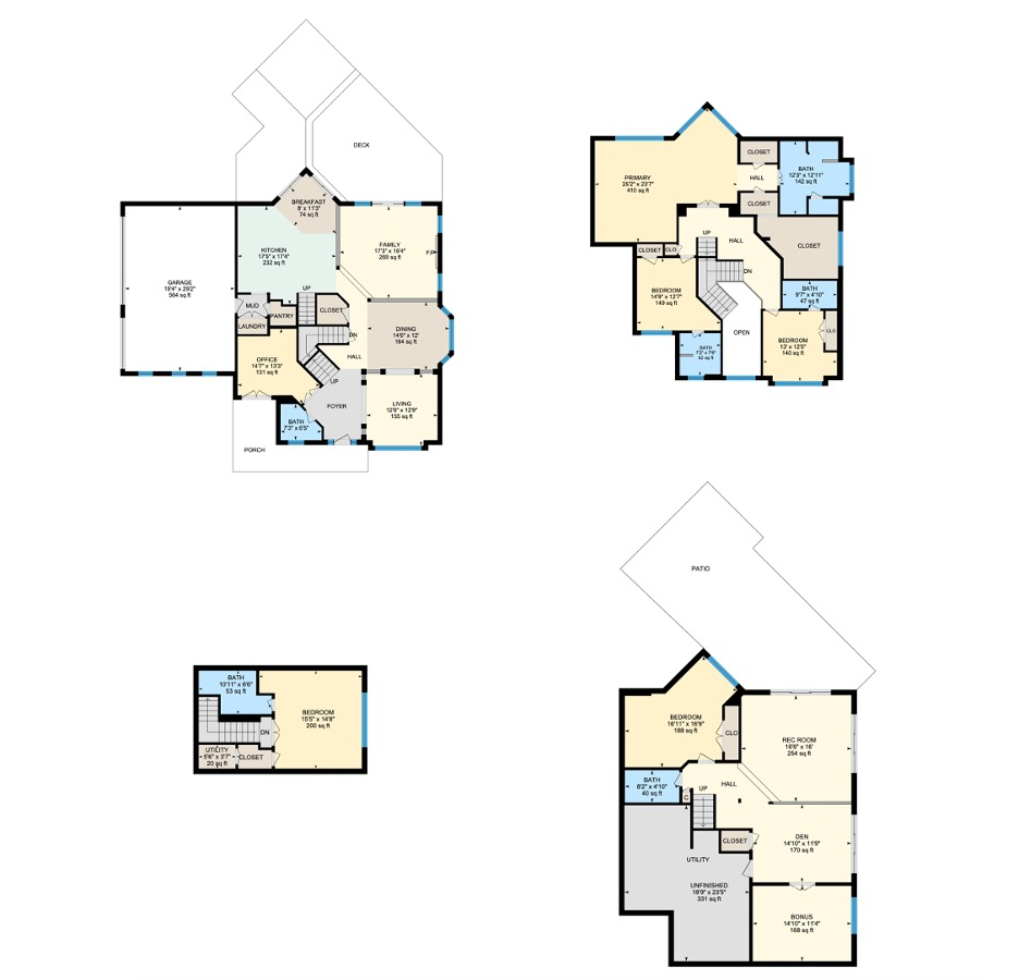 Paddington Floor plan