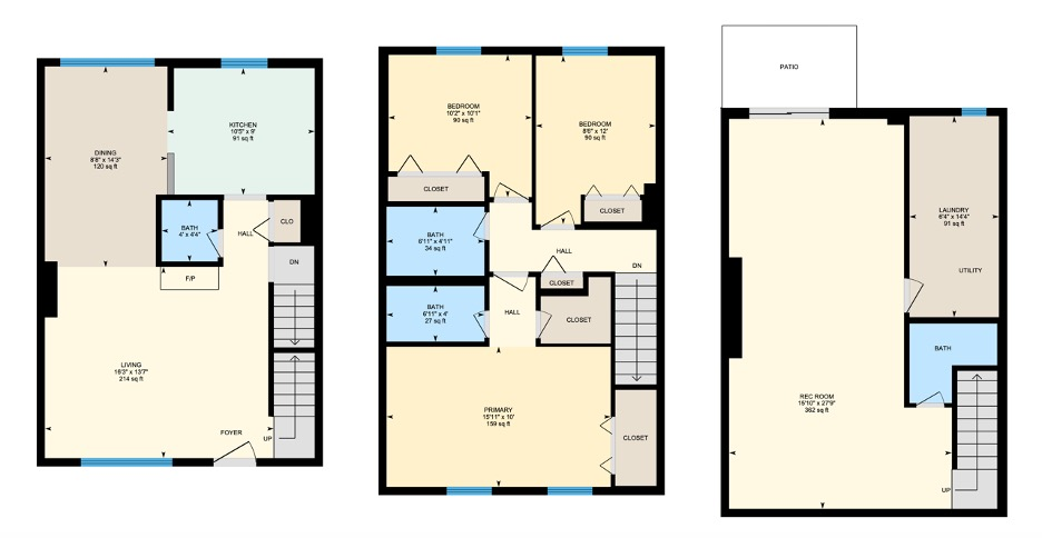 Paddington Floor plan