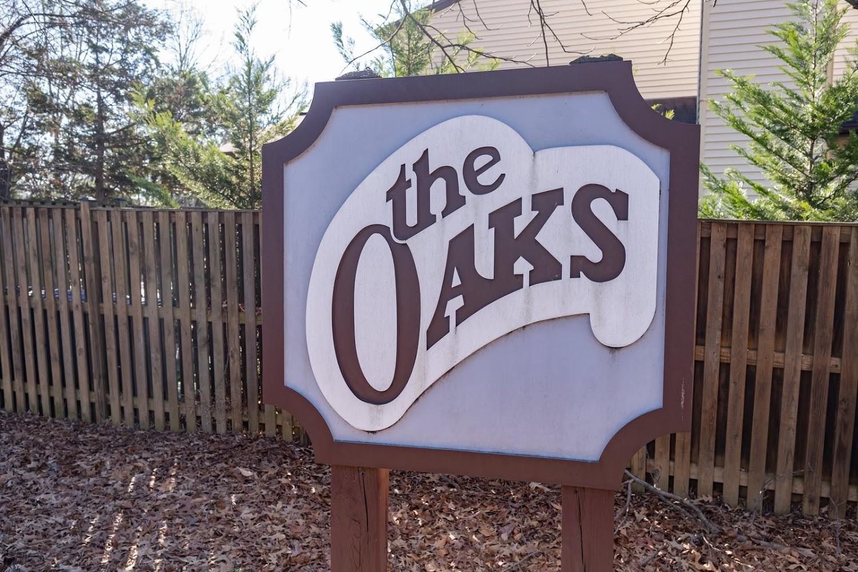 The Oaks announcment stone