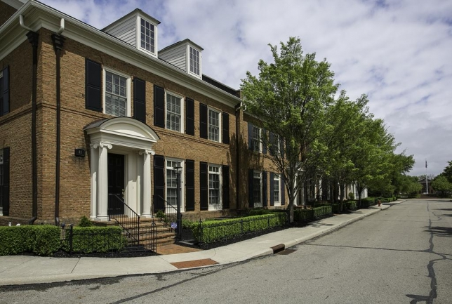 Keswick features townhomes in an excellent location