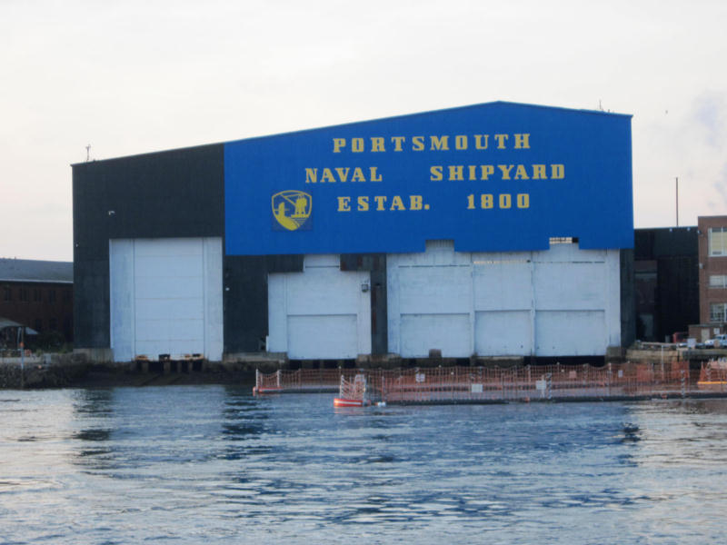 naval shipyard in Kittery, ME