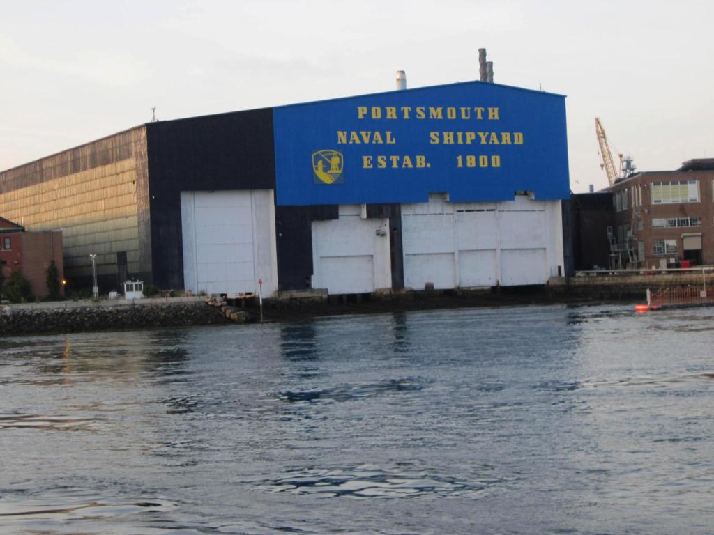 Kittery Shipyard.