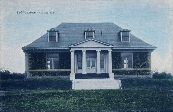 Eliot Maine Public Library 1919