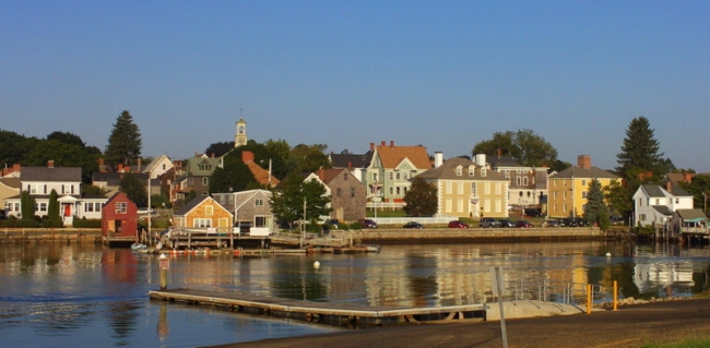 Harbor in South End of Portsmouth