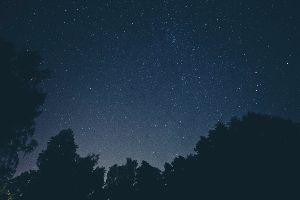stars in a dark night sky in paramus nj
