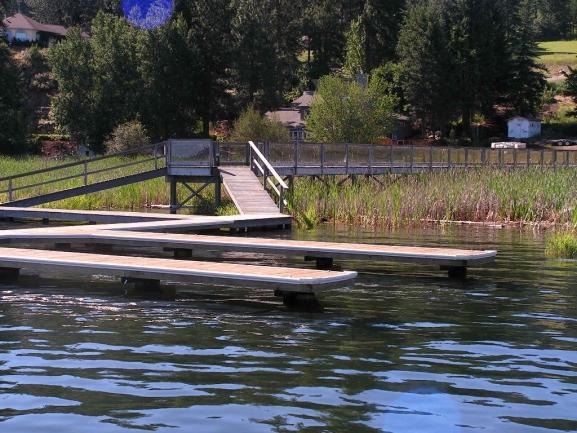 1.4 acres on the Spokane River