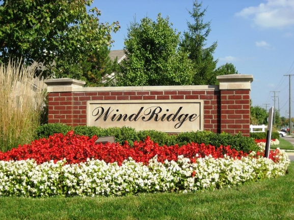 Windridge Neighborhood, Subdivision Entry, Northville MI 48168