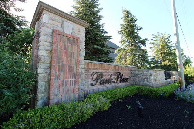 Park Place Estates Subdivision Marquee