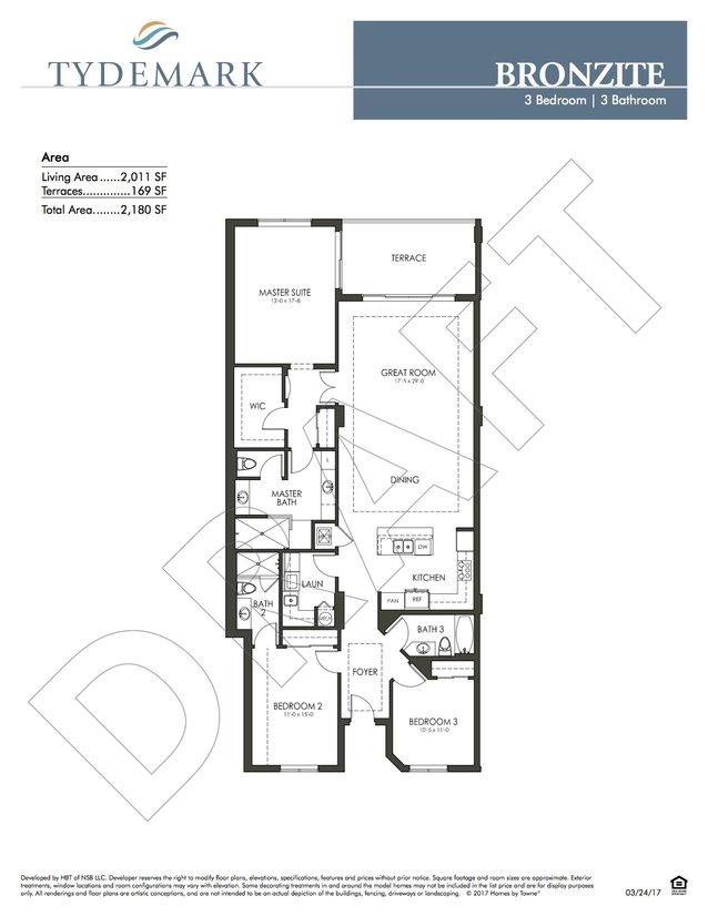 Bronzite floor plan