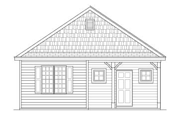 Fowler Elevation A