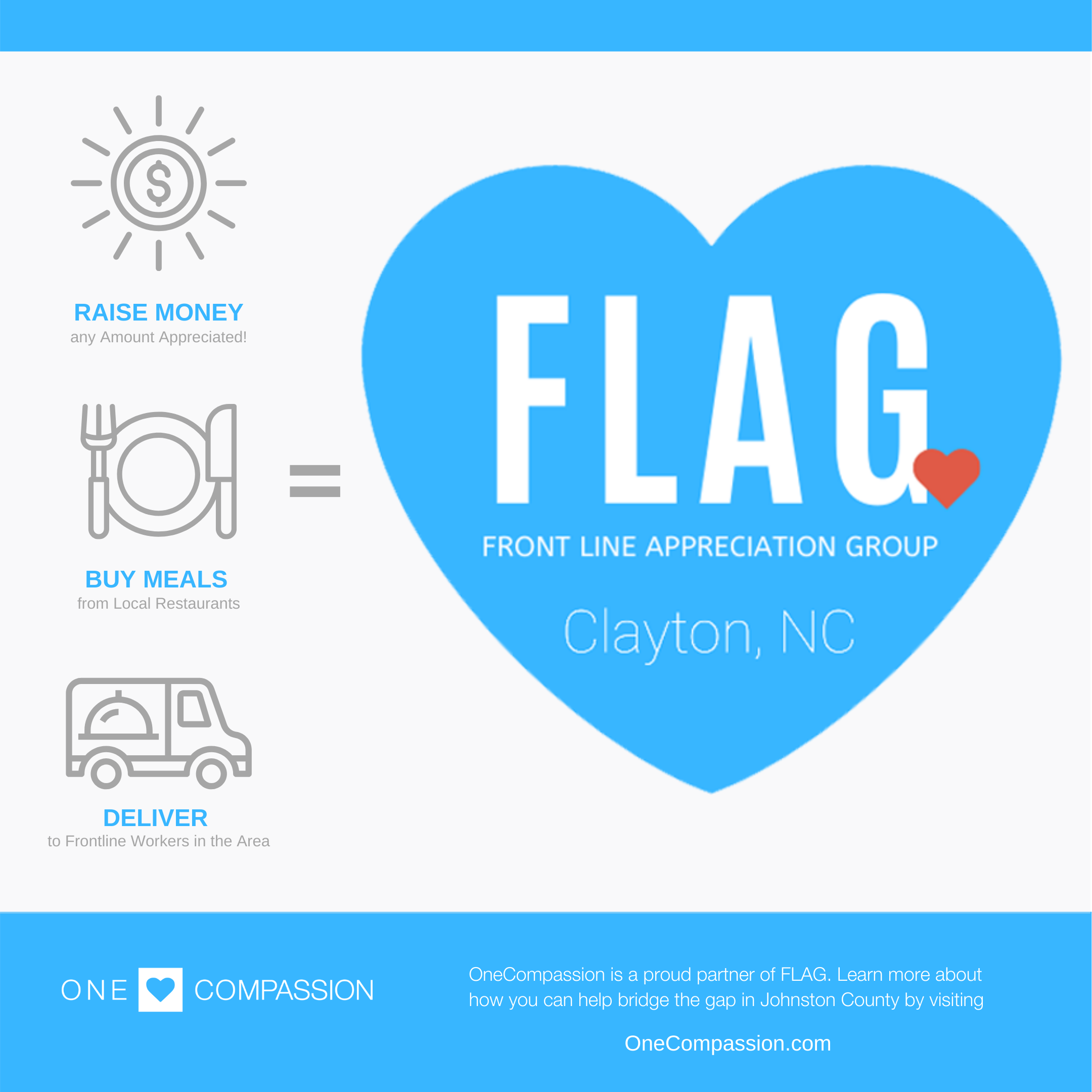 FLAG of Clayton