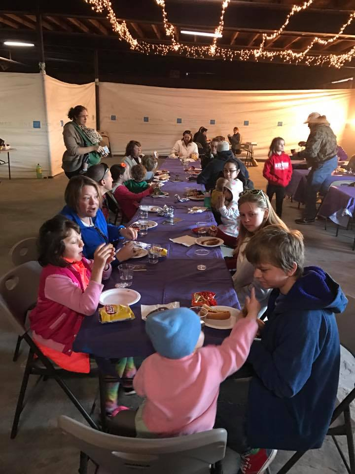the onetable march community dinner