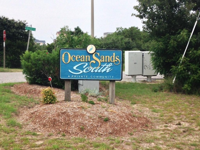 Ocean Sands Neighborhood in Corolla, NC