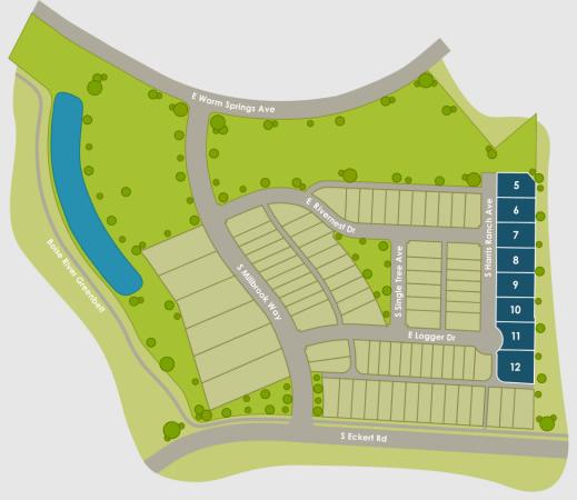 Barber Junction Plat Map