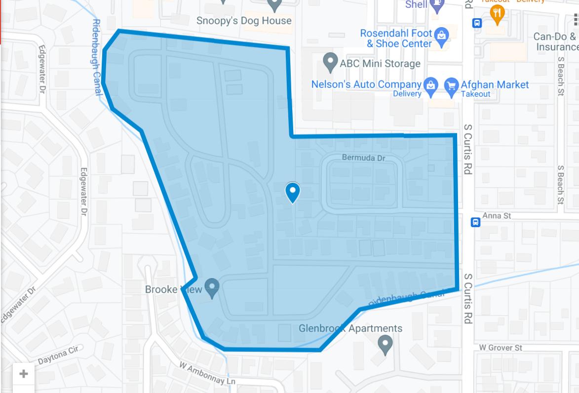 Brooke View Plat Map