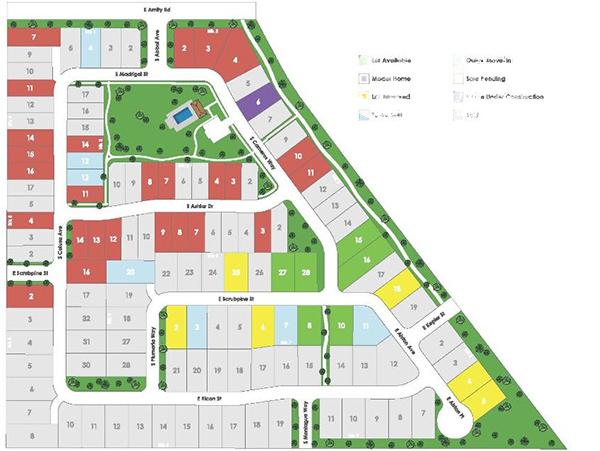 Calistoga Plat Map