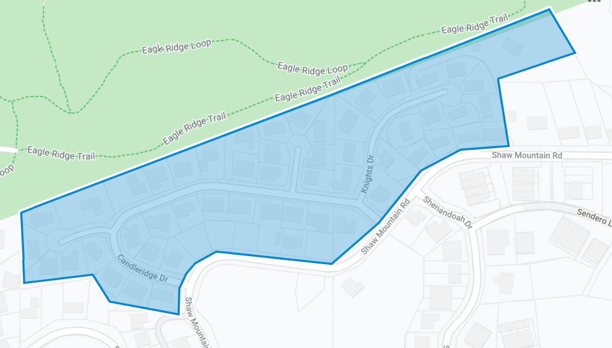 Candleridge Plat Map